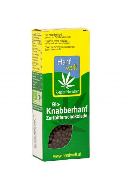 Bio Knabberhanf Zartbitterschokolade