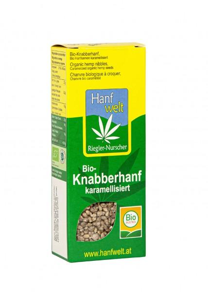 Bio Knabberhanf karamellisiert