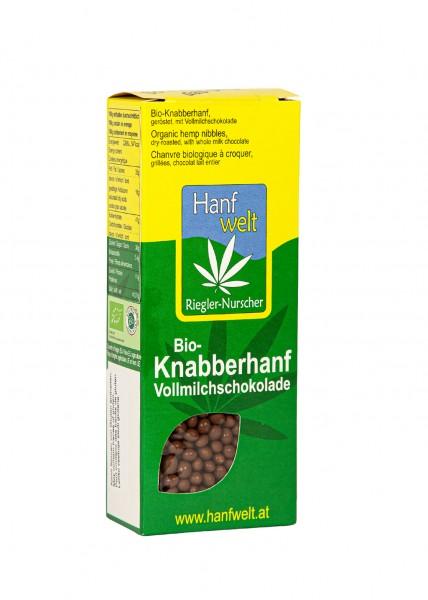 Bio Knabberhanf Vollmilchschokolade